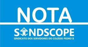 Sindscope repudia em nota perseguições e os assédios promovidos pelo Diretor-Geral do Campus de Volta Redonda do IFRJ