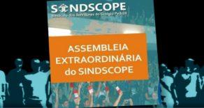 Atividade acontece nesta terça (21/11), a partir das 14h30, no Sindscope