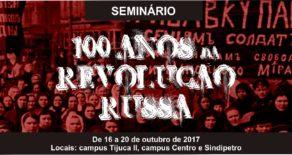 Sindscope promove seminário '100 Anos da Revolução Russa' de 16 a 20 de outubro