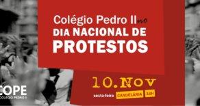 Servidores do CPII param nesta sexta (10) e participam dos atos contra as reformas de Temer