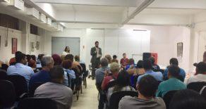Terceirizados do CPII em luta por garantias trabalhistas se reúnem no Sindscope